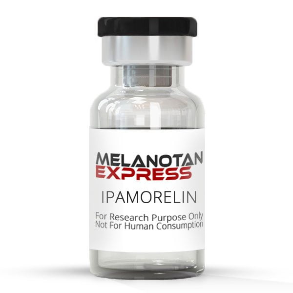 IPAMORELIN peptide vial made in the USA