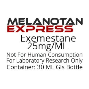 Exemestane SERMS liquid research chemical product label