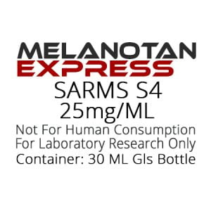 SARMS-S4 liquid research chemical product label