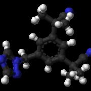Anastrozole 3D Molecule Structure