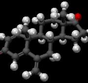 Exemestano 3D Molecule Structure