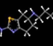Pramipexole 3D Molecule Structure