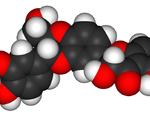 Silymarin 3d molecule structure