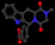 Tadalafil 3D Molecule Structure