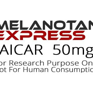 Aicar peptide product label