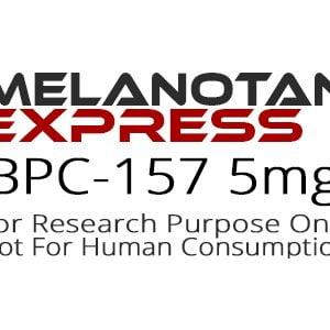BPC-157 peptide product label