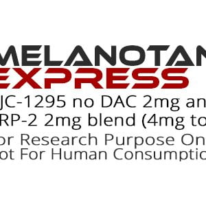 CJC1295 No DAC and GHRP-2 2mg blend peptide product label