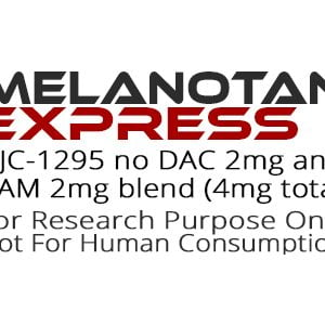 CJC1295 No DAC and IPAM 2mg blend peptide product label