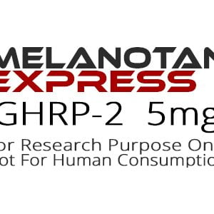GHRP-2 peptide product label