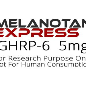 GHRP-6 peptide product label