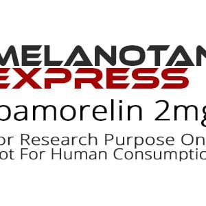 Ipamorelin peptide product label