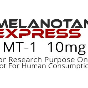 MT-1 peptide product label
