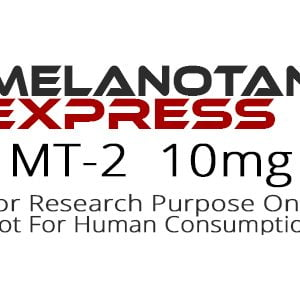 MT-2 peptide product label