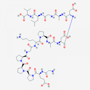 Made in USA BPC 157 Peptide chemical structure