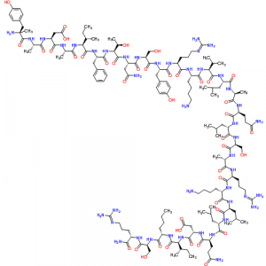 Made in USA CJC-1295 No DAC Peptide chemical structure