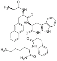 Made in USA GHRP-2 Peptide chemical structure