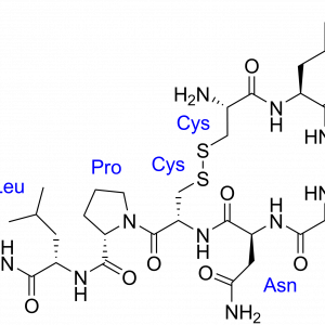 Made in USA Oxytocin Peptide chemical structure