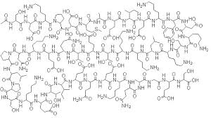 Made in USA TB-500 Peptide chemical structure