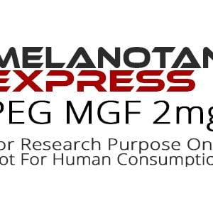 PEG MGF peptide product label