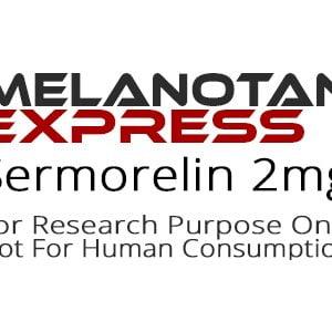 Sermorelin peptide product label