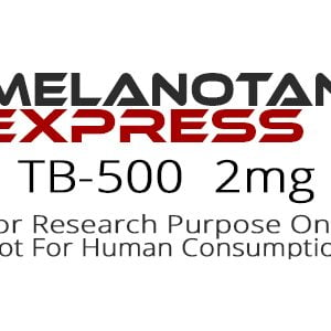 TB-500 peptide product label