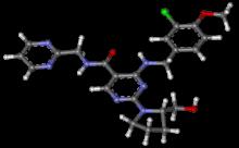 Avanafil Liquid research chemical molecule structure made in USA