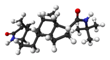 Finasteride Liquid research chemical 3D structure made in USA