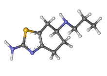 PramipexoleLiquid research chemical 3d structure made in USA