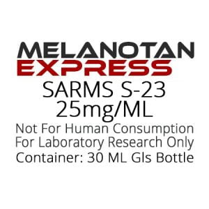 SARMS-S-23 liquid research chemical product label