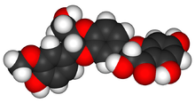 Silymarin Liquid research chemical 3D structure made in USA