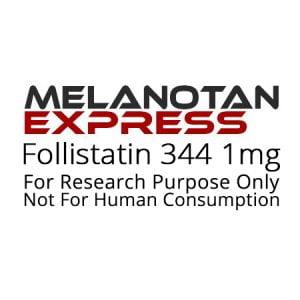 Follistatin 344 peptide product label